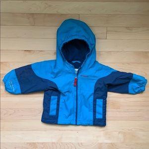 Columbia fleece lined coat